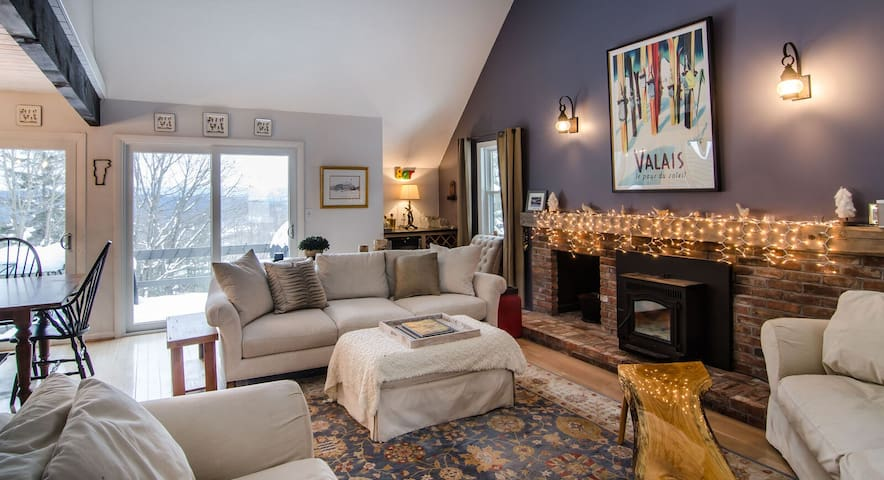 Quechee's Newest Winter Seasonal Rental Retreat
