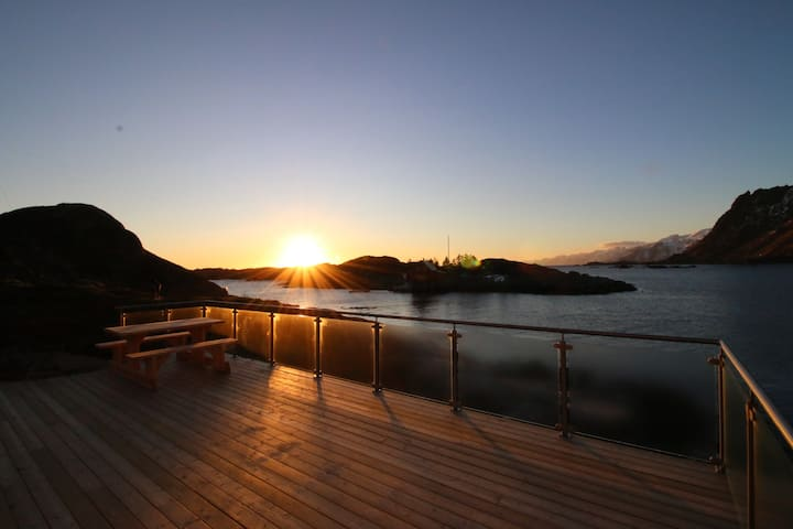 Lofoten Number 9. Brilliant by the sea!