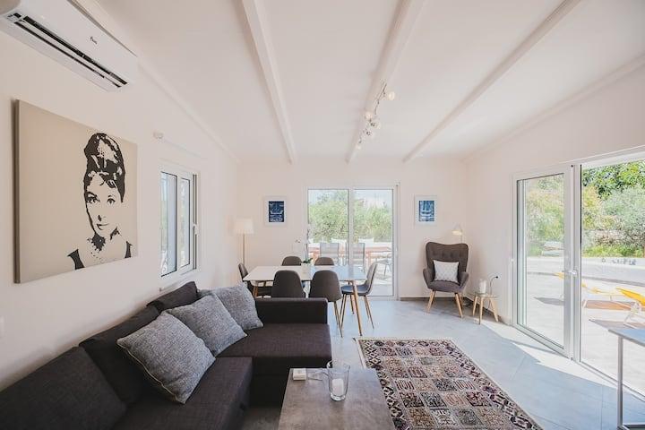 Large Private Villa with Splendid Terraces & Views