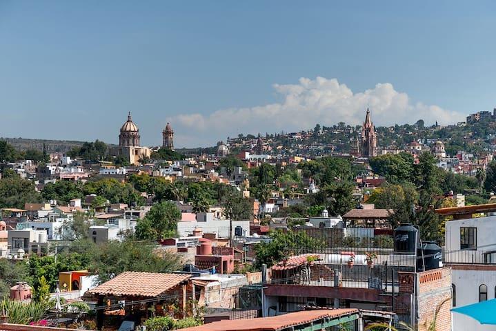 Fantastic View Home in San Miguel  ( Casita # 2)