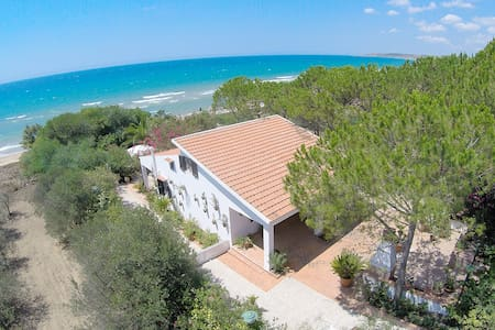 Haus von Luli zum Meer, Lido Fiori Menfi - Contrada Fiori Sud