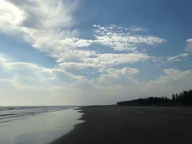 Casitas Ver. - Habitacion frente al mar. y Camping