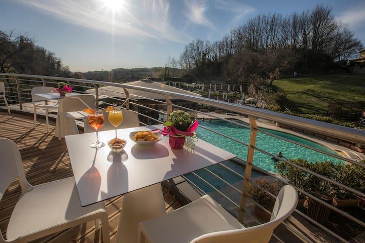 Villa Iris with thermal pool
