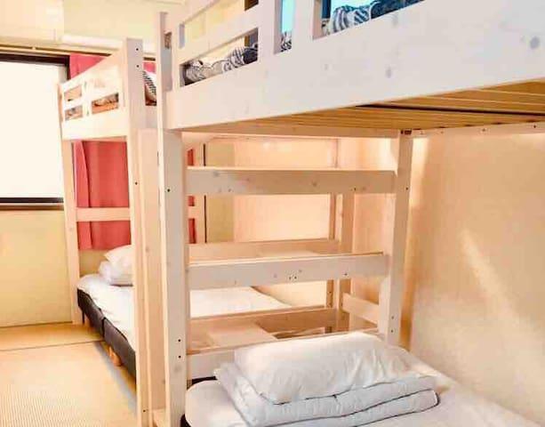 泉 Izumi Guest house/ Private shower&toilet   2-4人