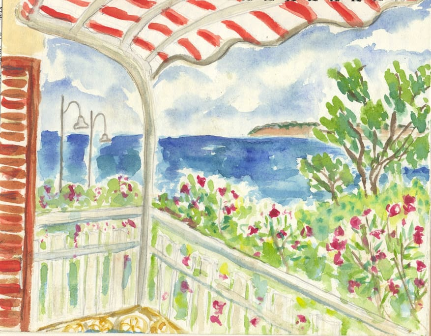 Balcone sull'Oriente - Lavoro artistico di Abigail MERICKEL (USA _ OREGON)