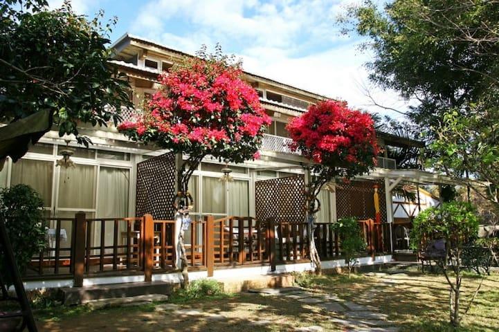 溫馨房double room (二館,距本館約80公尺,無湖景)-日月潭富豪群渡假民宿 - Yuchi Township - Gästehaus