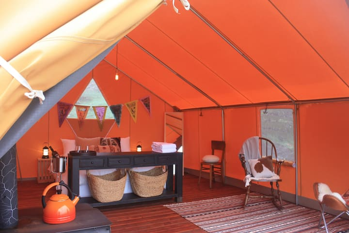 Chanslor Ranch Turkey Point Glamping Tent - Bodega Bay - Tent