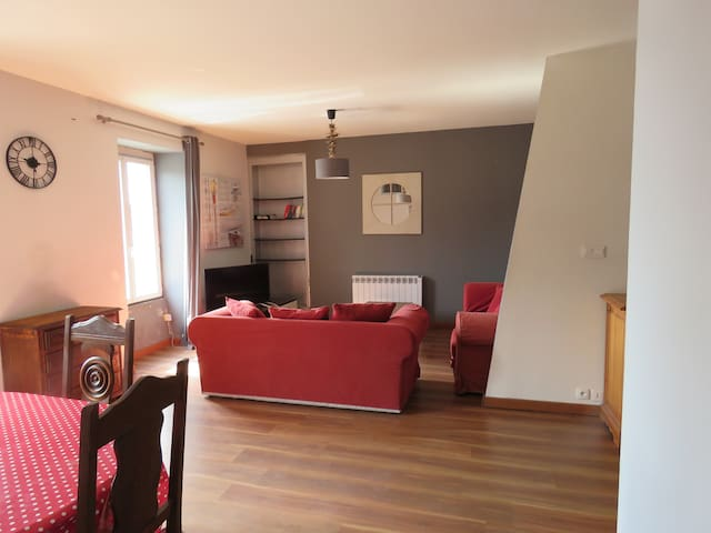 Grand appartement dans le centre du Guilvinec - Guilvinec - Apartemen