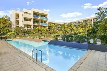 Beautiful 1 bed in Luxury resort style complex - Erskineville - Flat