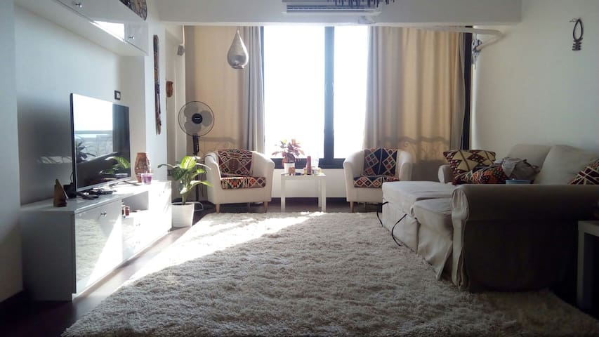 fully furnished modern apt - El Obour City - Lägenhet