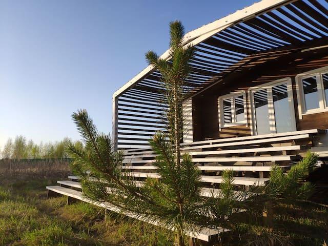 ESCAPEHOUSE в АРТ-ПАРК Никола-Ленивец