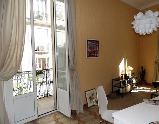 Charming apartment close to Promenade des Anglais