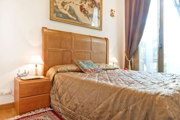 Cozy rooms in the city center
