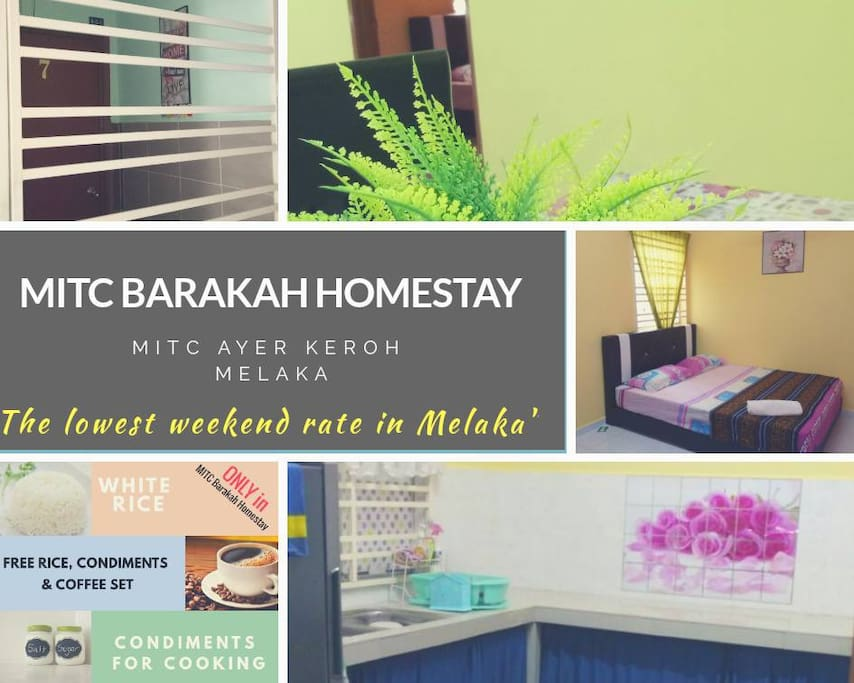 The LOWEST WEEKEND RATE in Melaka (awarded by Booking.com)