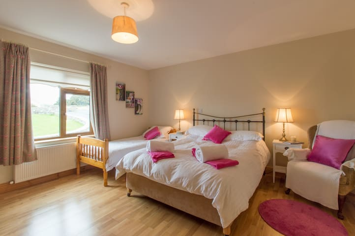 Double room in Rosmuc ,Connemara . - Cloch a'Leachta - Penzion (B&B)