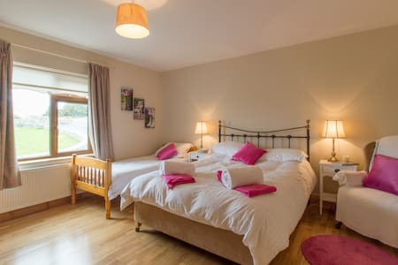 Double room in Rosmuc ,Connemara . - Cloch a'Leachta - Inap sarapan