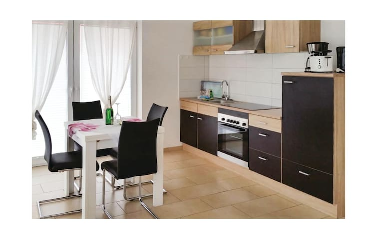 Holiday apartment with 1 bedroom on 54m² in Barth