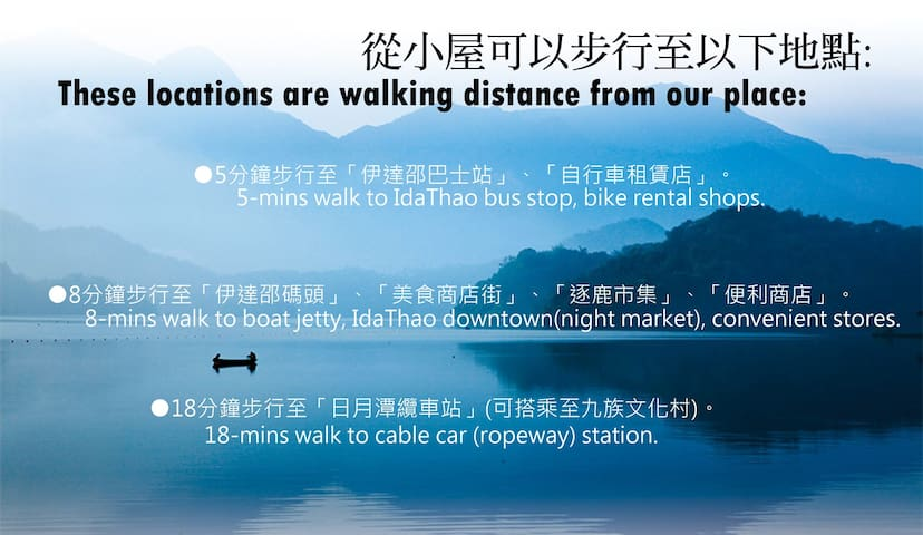 Easily walk to bus stop, pier, cable car station and night market.從小屋可以步行至巴士站、纜車站、碼頭和老街。