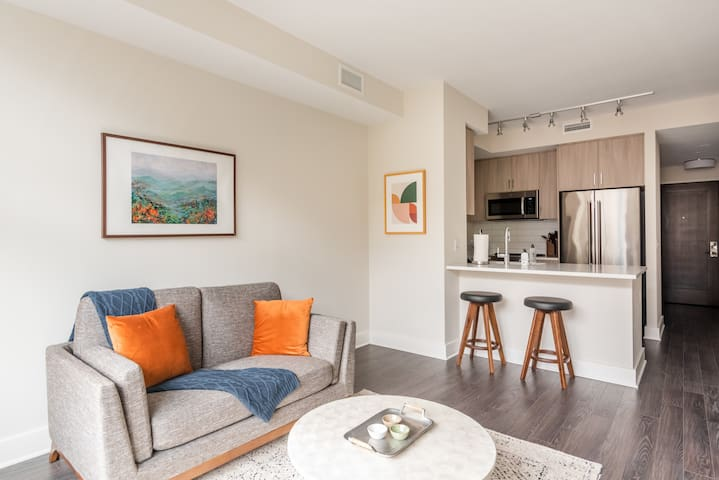 Modern 1BR close to the Best of Bethesda