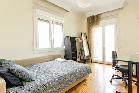 Amazing corner room at Aristotelous - Thessaloniki