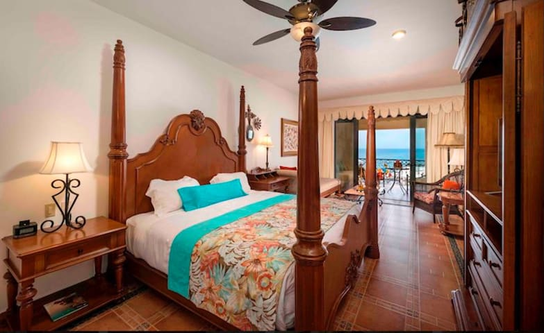 1 bedroom hacienda style master suite