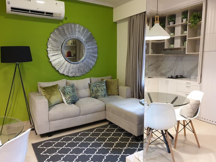 Charming 1BR Apartment in the Heart of Jakarta