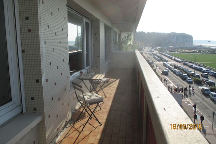 La plage vue mer panoramique 80 m² bel appartement - Dieppe - Apartment