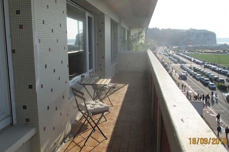 La plage vue mer panoramique 80 m² bel appartement - Dieppe