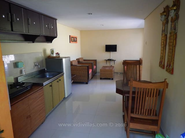 Vidi Villa #2 with private pool and 2 bedrooms - Sukawati - Appartement