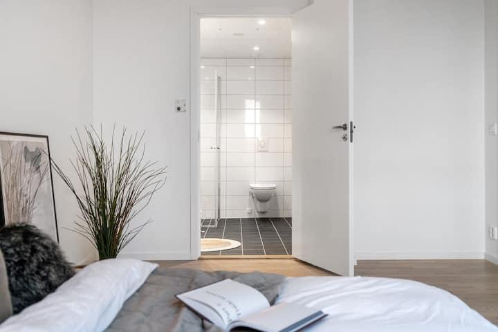 Ny leilighet med 2 bad på Sandsli i Bergen