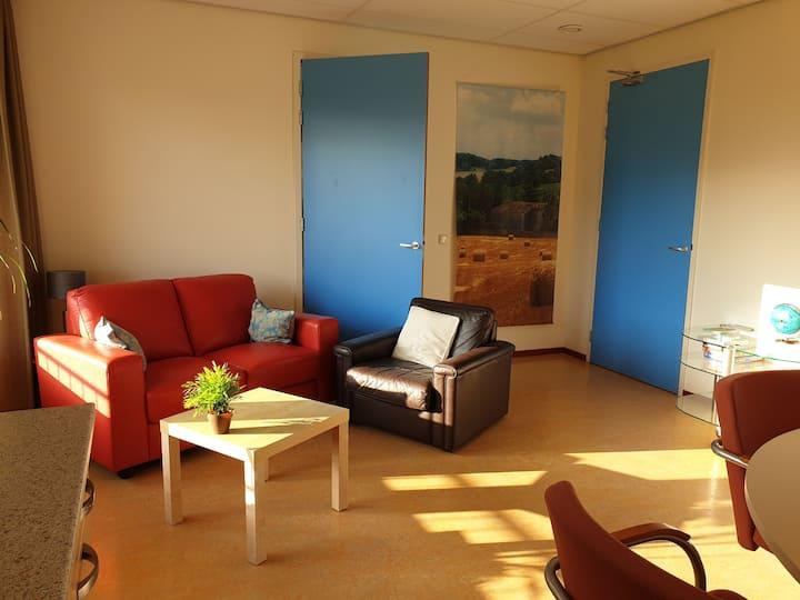 Sfeervol 2-persoons Appartement Weidezicht in Reek