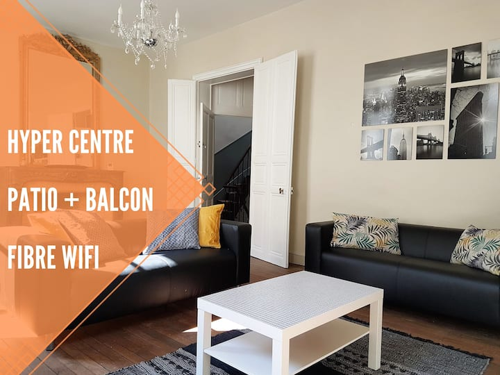 Chambre n°1 - Colocation Hyper Centre
