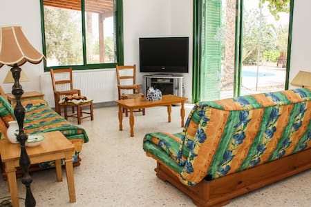 Fam offer: 3 br in Villa with Pool in countryside - Mandria - 別荘