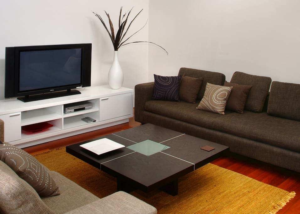 Stylish furnishings and living space
