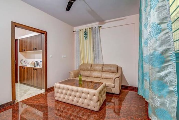 Entire 1 BHK flat in JP Nagar - 001