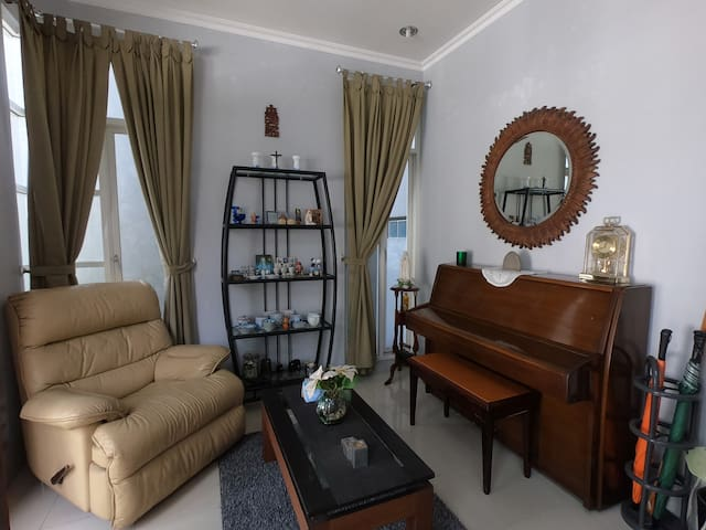 Foyer with Piano