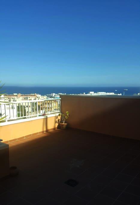 Estas son las vistas ¡Siempre llega la brisa marina!