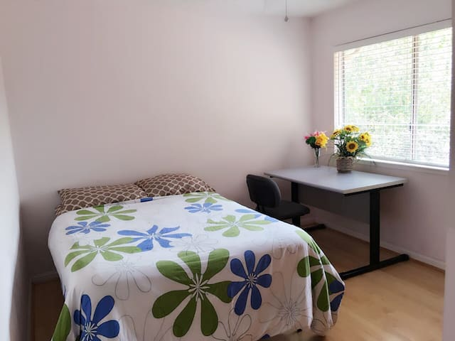 M2 Privat Room_8 min Great Mall,Milpitas,Free WIFI