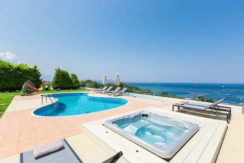 Kosta Mare Villa, panoramic views!