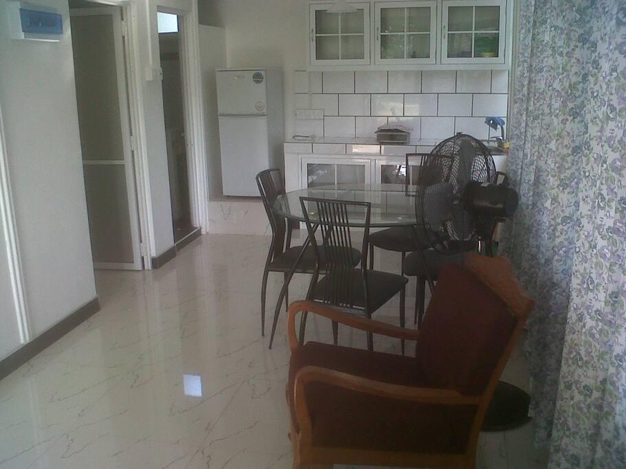 Apartment area