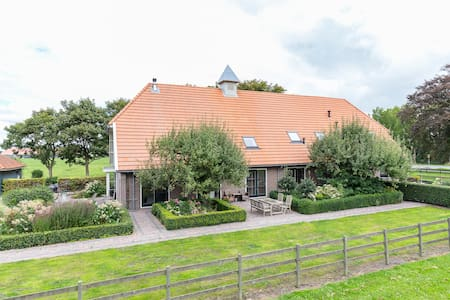Luxurious country house 25km from Amsterdam 14 p - Middenbeemster - 独立屋