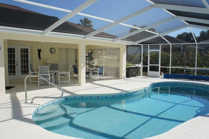 Luxury 3-bedroom villa with pool!