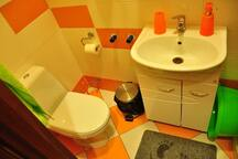 Shared toilet