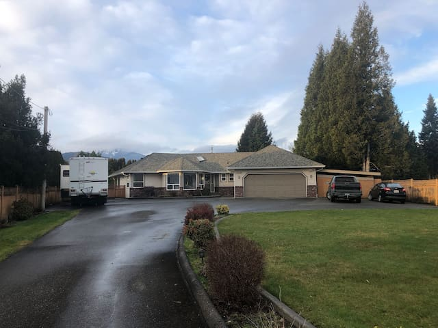Executive Fraser River Rancher with Pool & Hot Tub