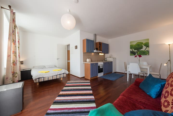 Lovely & Clean Studio Apartment with Terrace II