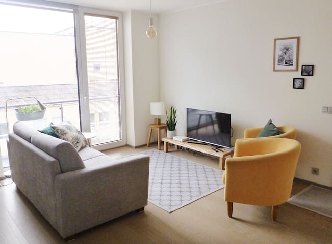 Bright and Cheerful City Residence