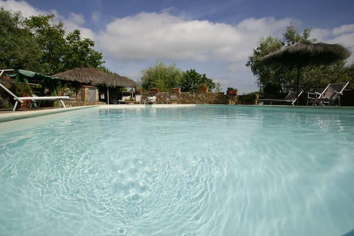 Villa Sugherella  famiglie mare piscina winter spa