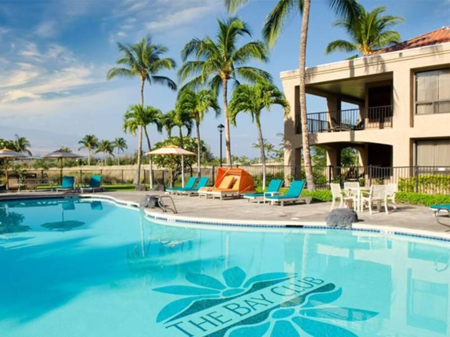 Resort has 2 nice pools