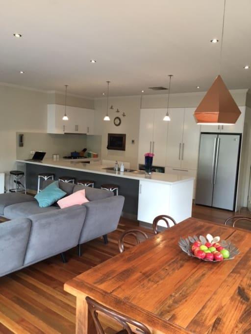 Huge Open Plan Living Area