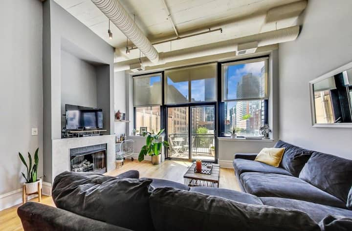 Loft Living in the Loop